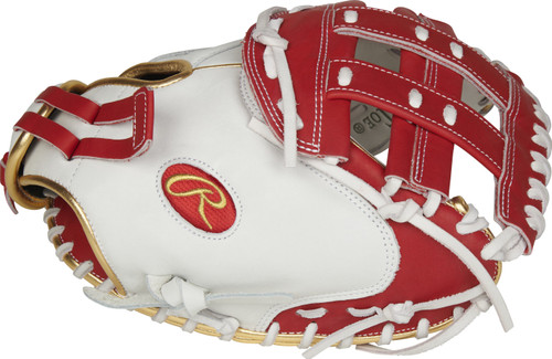 "2021 Rawlings LIBERTY ADVANCED COLOR Series 33"" Fastpitch CATCHER'S MITT"