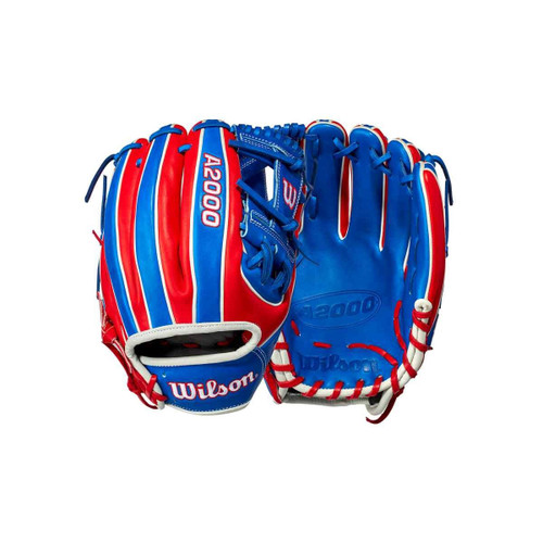 """2021 Wilson A2000 1786 Dominican Republic 11.5"""" Infield Baseball Glove - Limited Edition"""