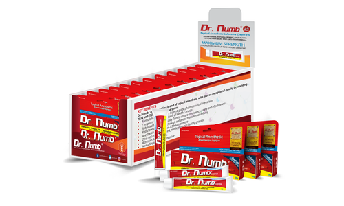 FLASH DEAL: 24 Tubes of Dr. Numb plus FREE 3 Tubes