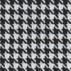 "Houndstooth Black/White Cloth 54"""