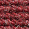 "Imported German Wool Square Weave Carpet 71"" - 345 Red"
