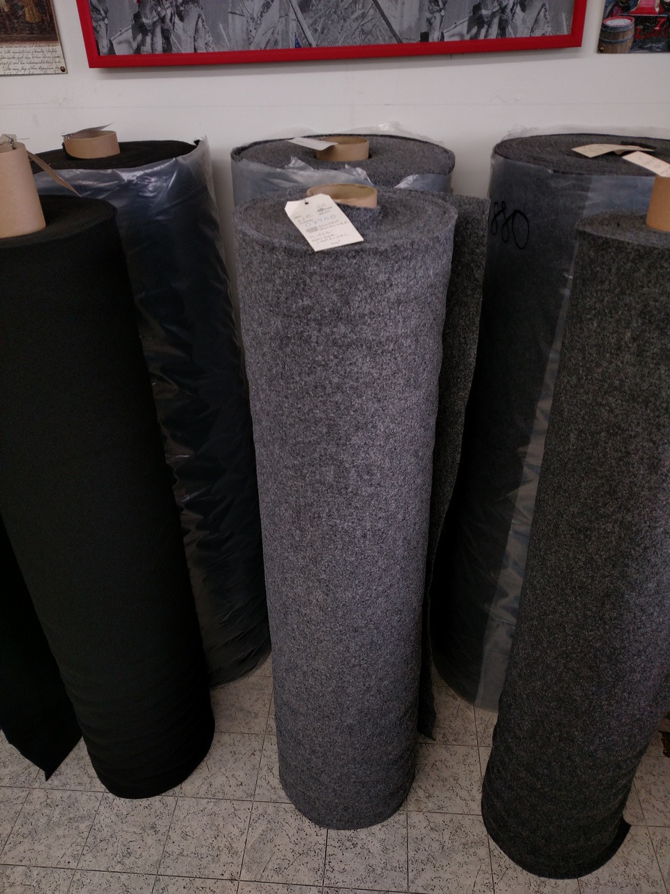 Rontex TL 1023 Heather Charcoal Trunk Liner 54""