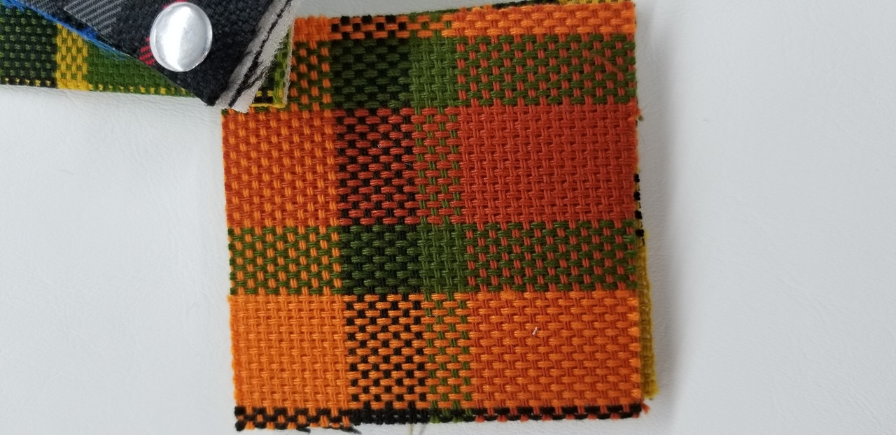German Plaid Red Orange Green Oem Fabric 58 Wide Sold By The Continuous Yard J J Auto Fabrics Inc