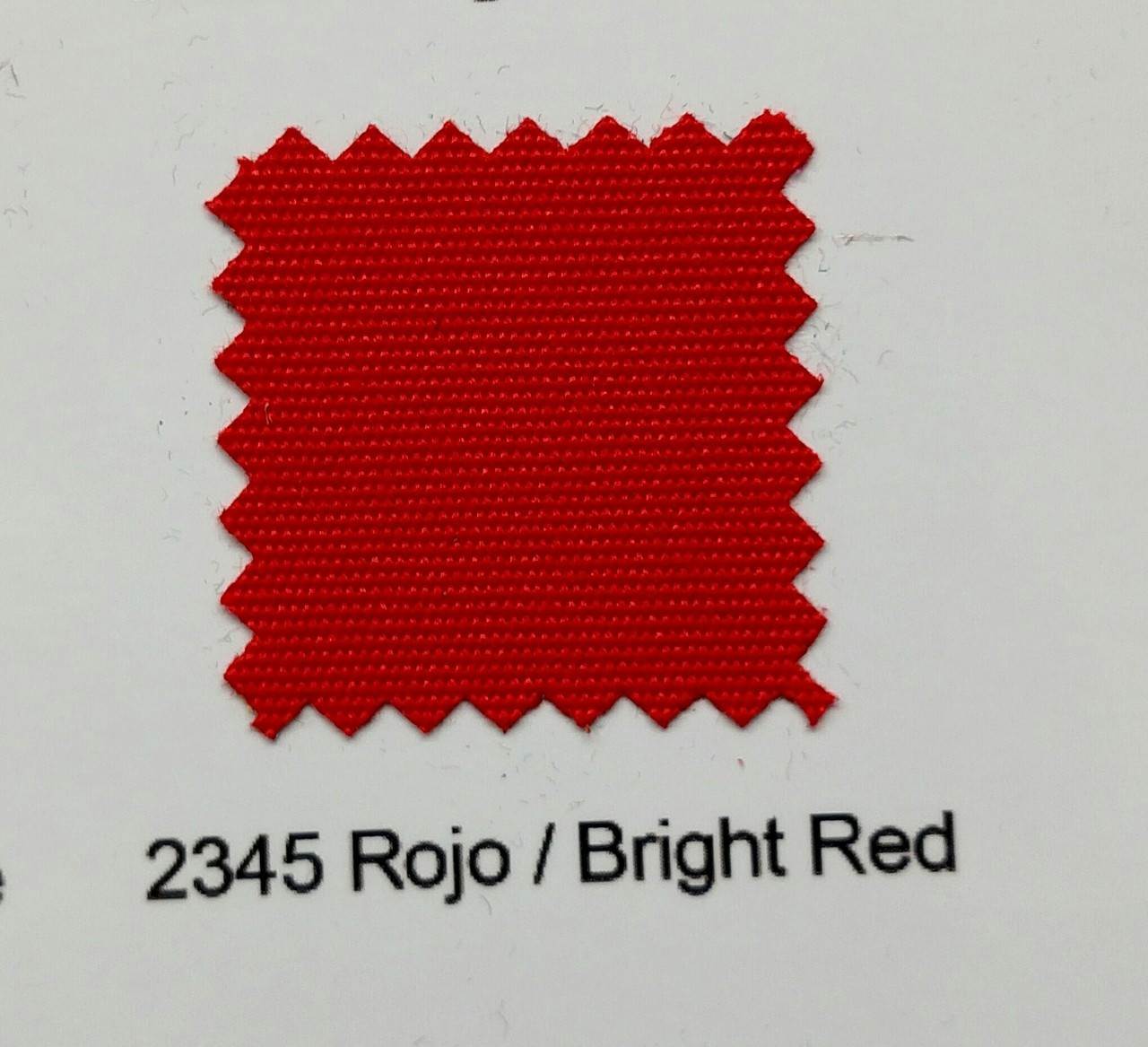 "Sundown Marine Canvas Bright Red 60"" - Sold by the CONTINUOUS YARD!"