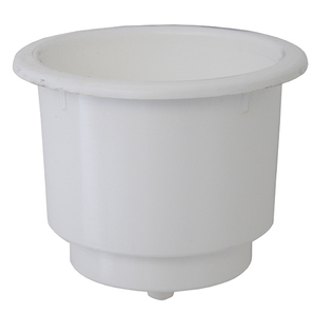 Cup Holder - WHITE Plastic - Sold Each