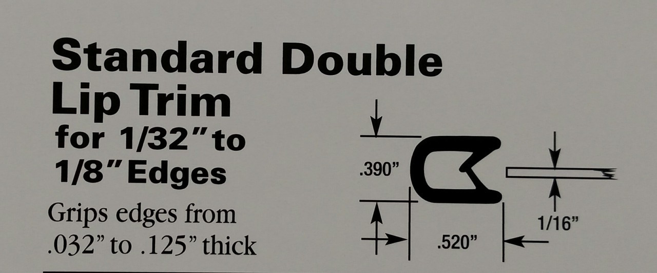 """For Edges 1/32"""" to 1/8"""" Thick"""