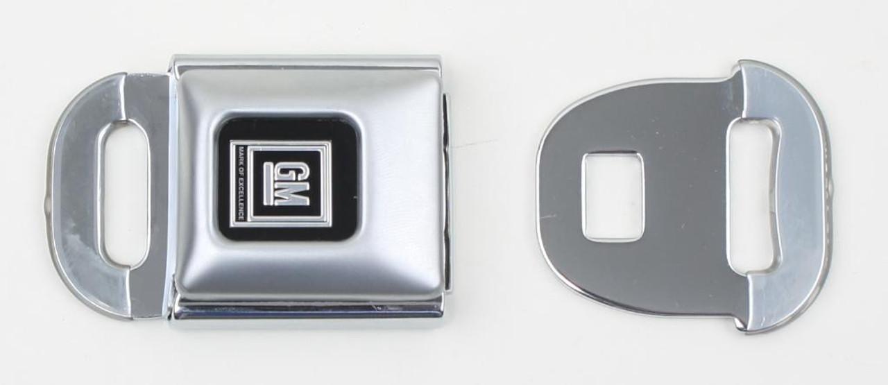Vintage GM Logo Buckle & Tongue