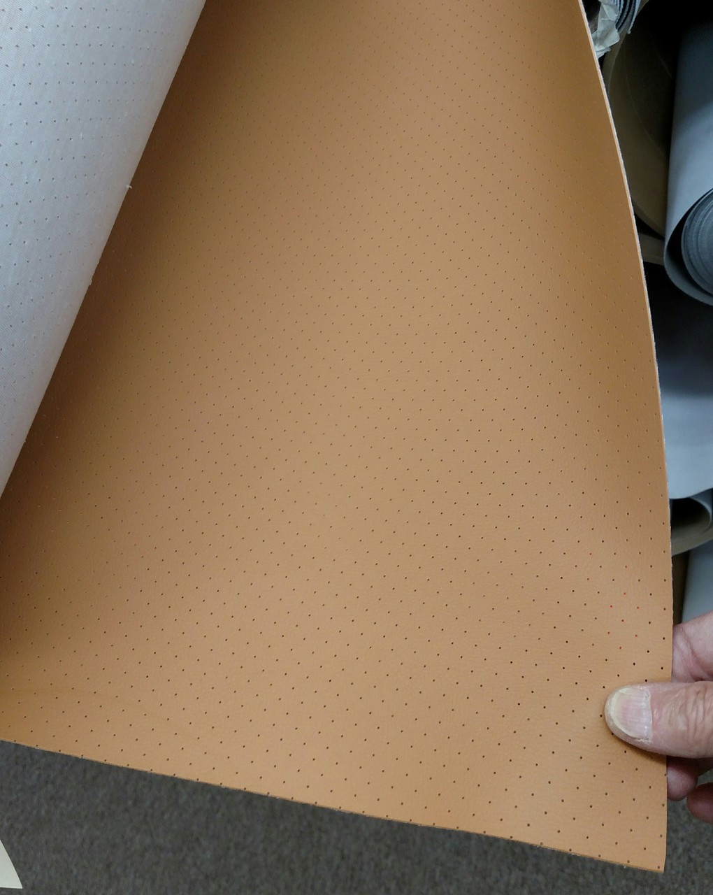 """HPA-2218 Highland 32oz Perforated Saddle Vinyl 54"""""""