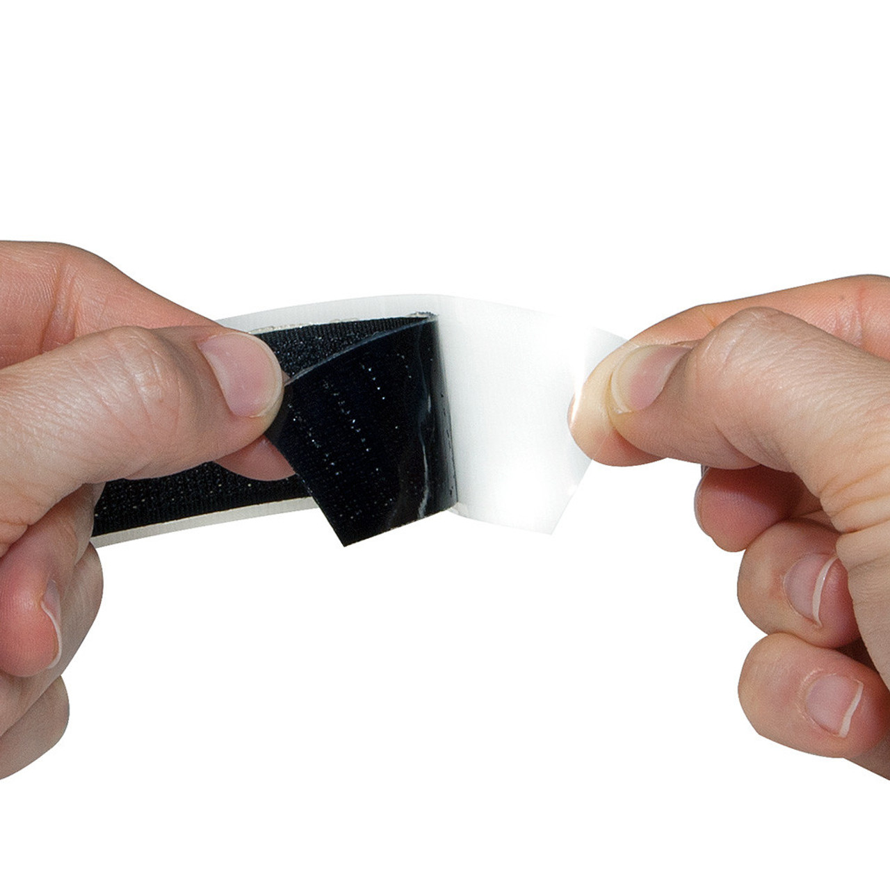 Adhesive Backing on Black or White