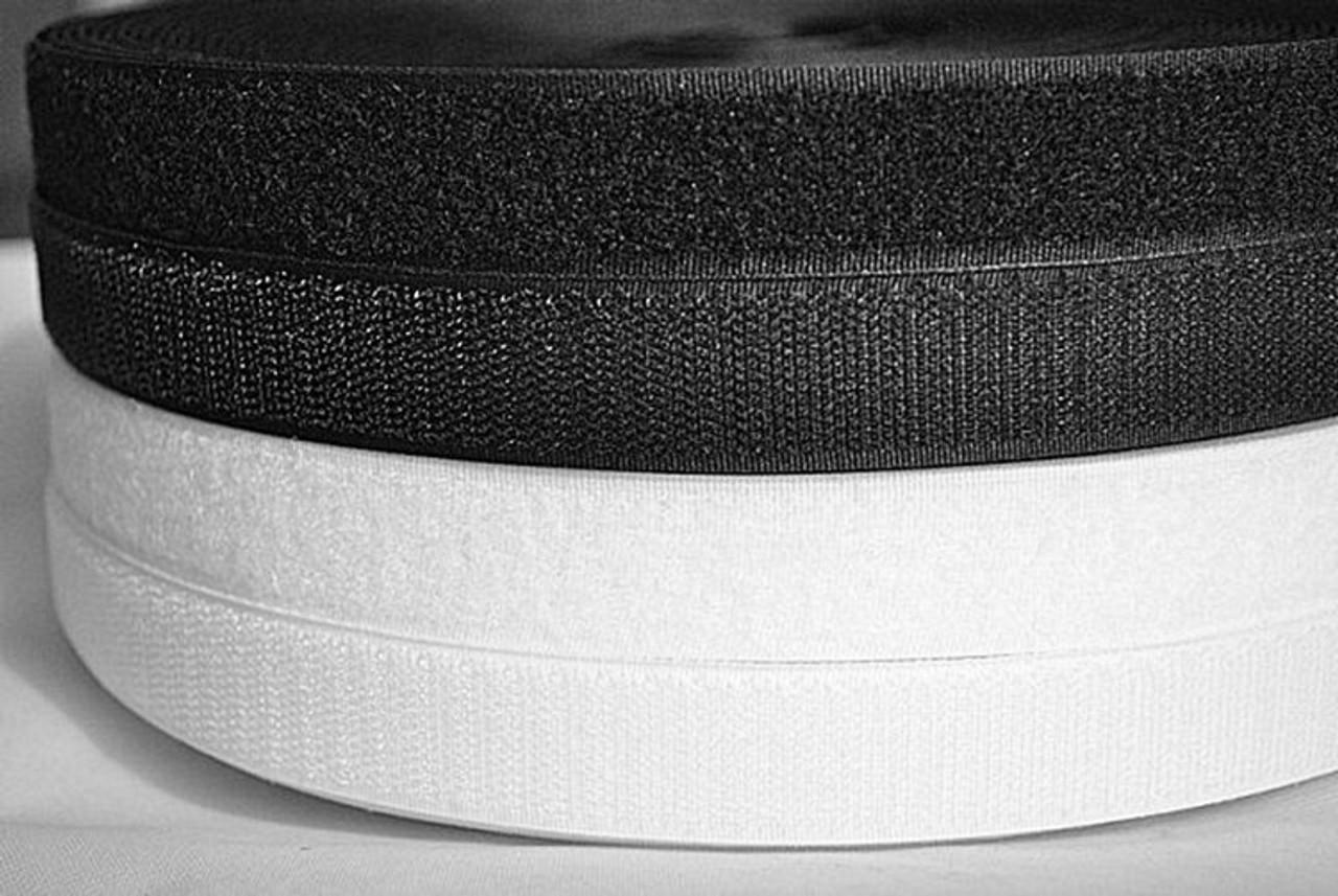 Sew-In Loop & Hook in Black or White