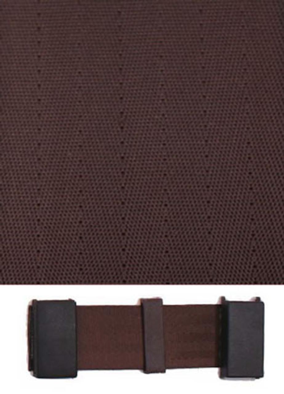 3005 Dark Brown with Black Plastic Trim