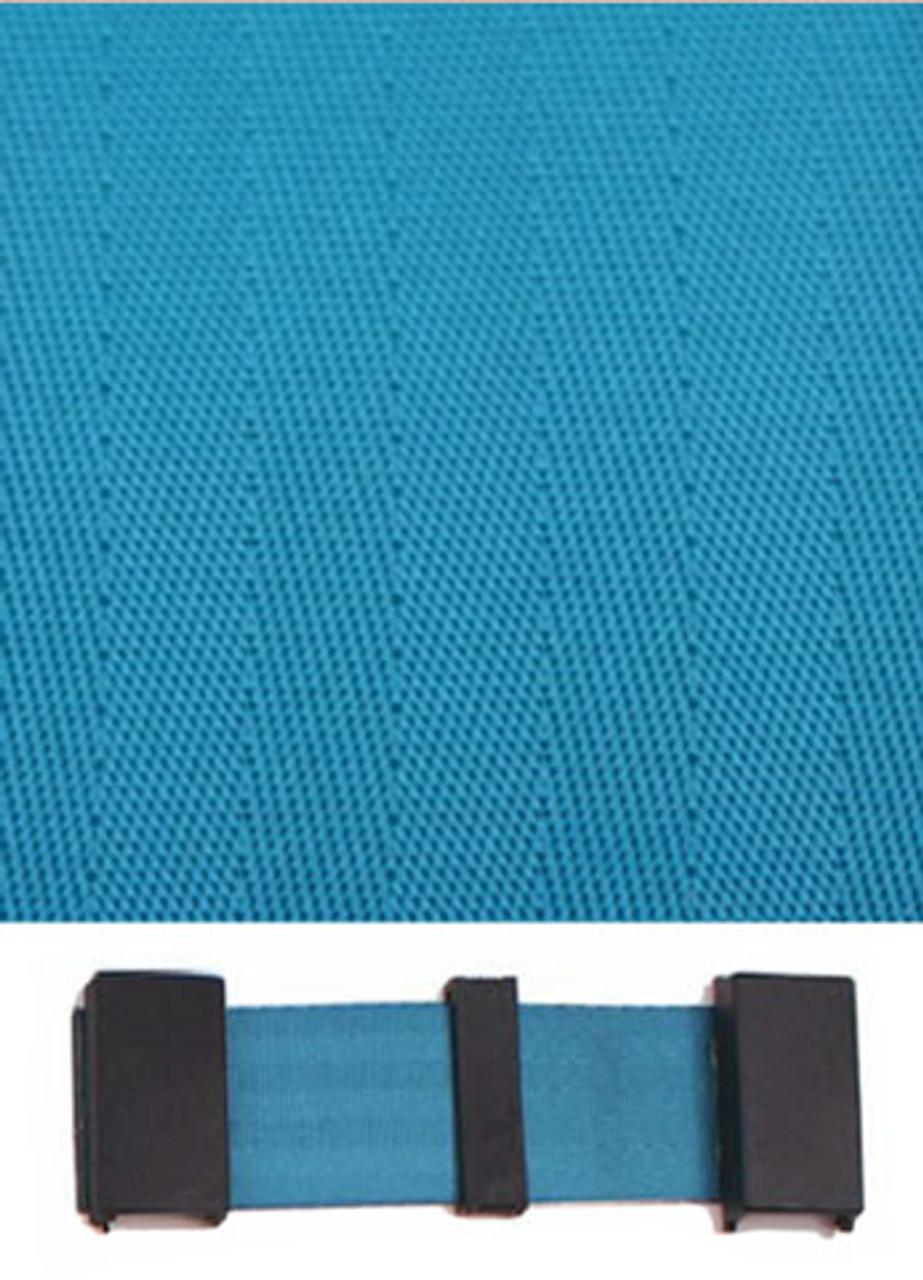 4000 Electric Blue with Black Plastic Trim