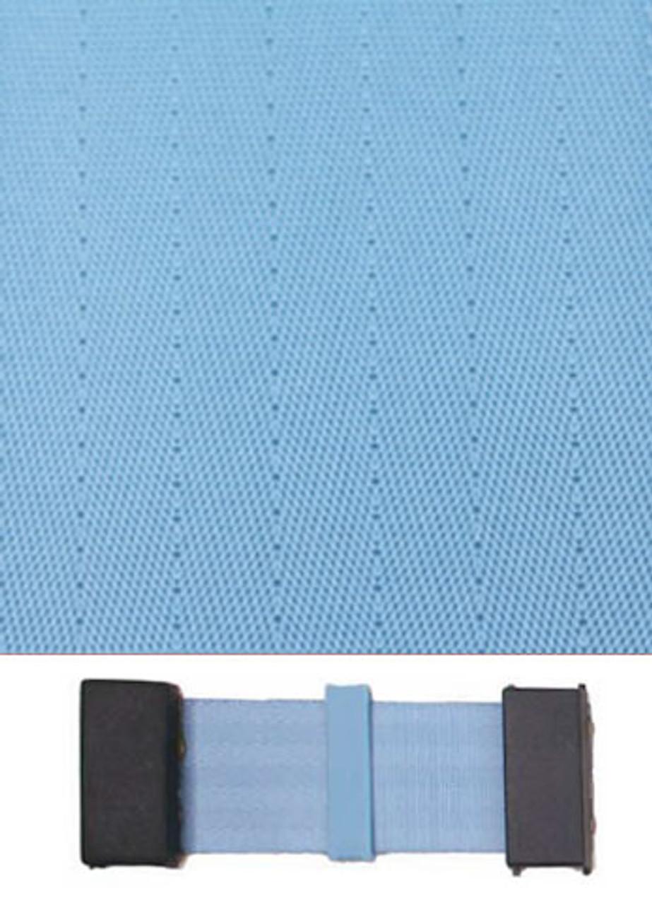 4005 Powder Blue with Black Plastic Trim