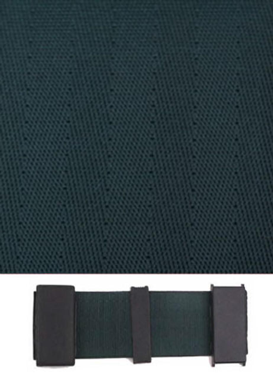 5006 Dark Green with Black Plastic Trim