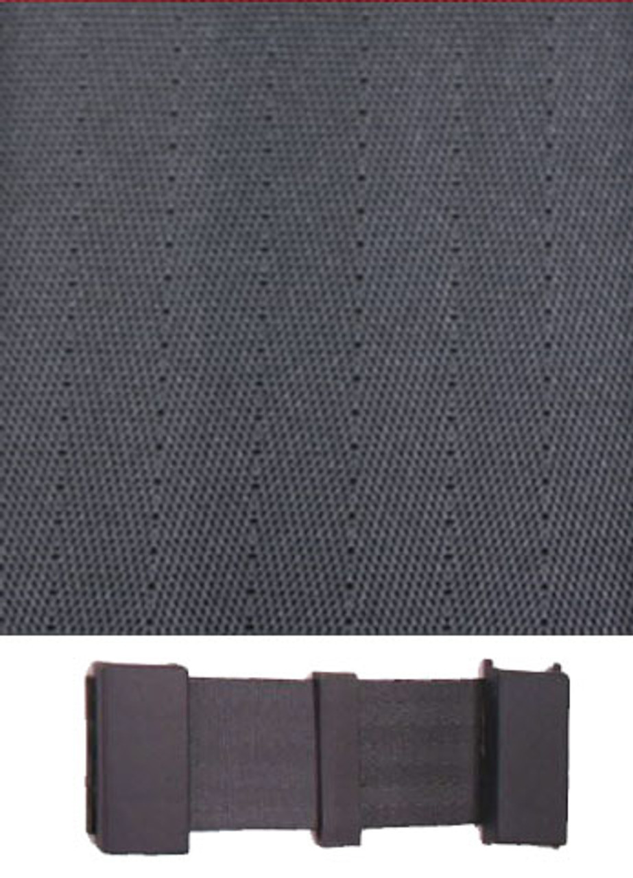 6009 Charcoal with  Charcoal Plastic Trim