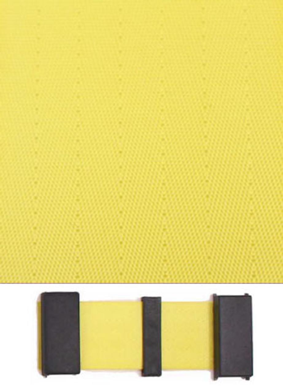 7500 Yellow with Black Plastic Trim