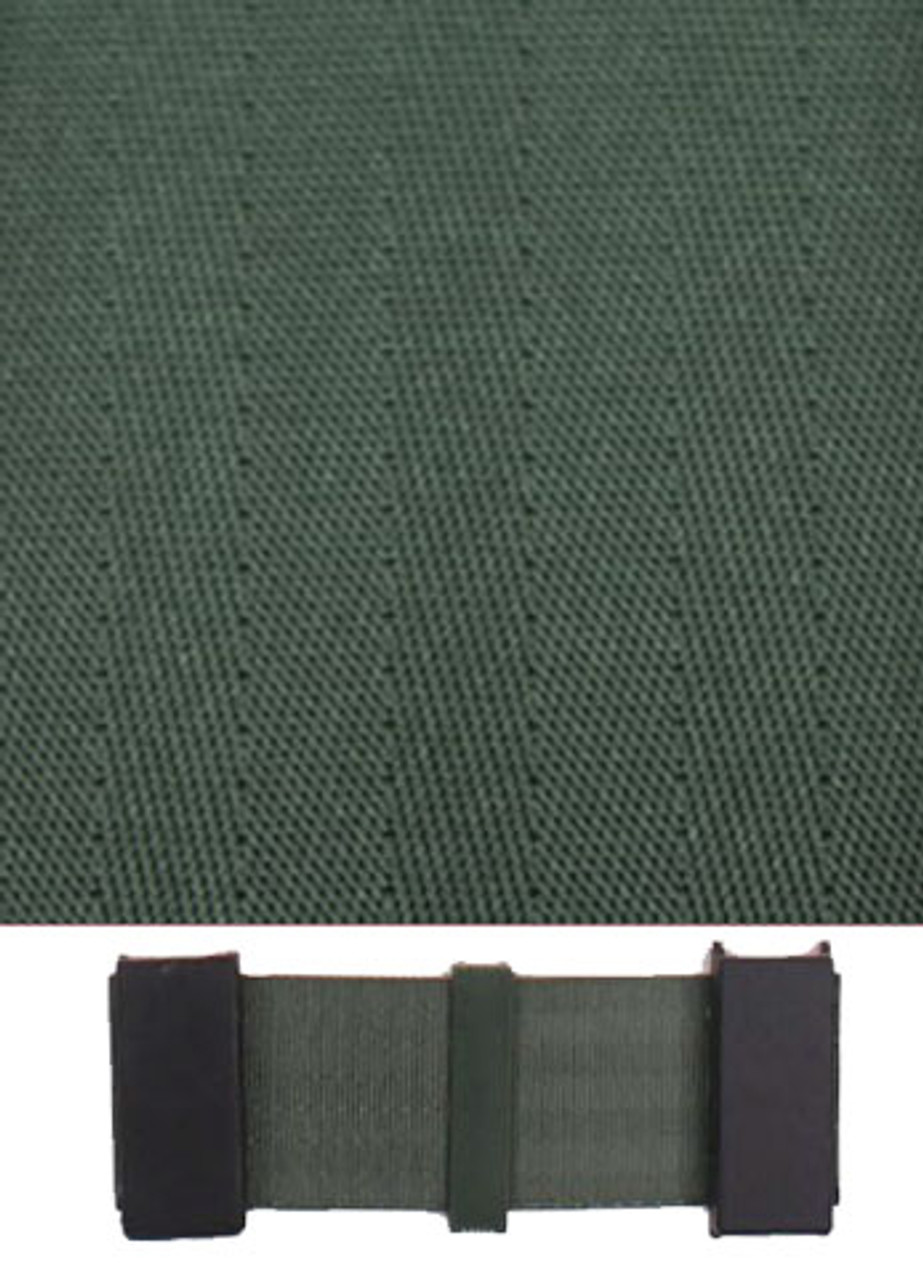 5002 Military Green with Black Plastic Trim