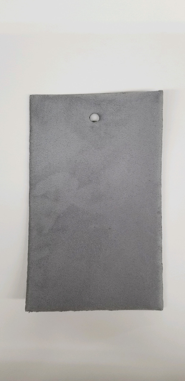 """Luxury STRETCH Suede Headliner Gray 58"""" - Sold by the CONTINUOUS YARD!"""