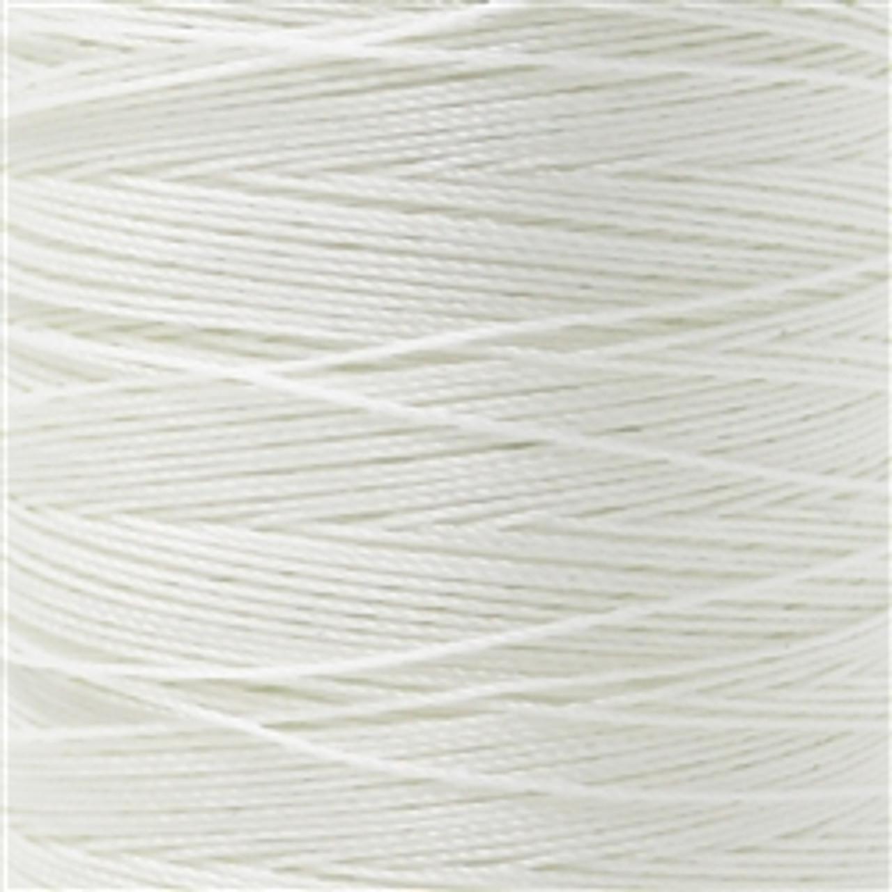 QTC T-270 Bonded Nylon Thread White 721Q 8 oz Spool