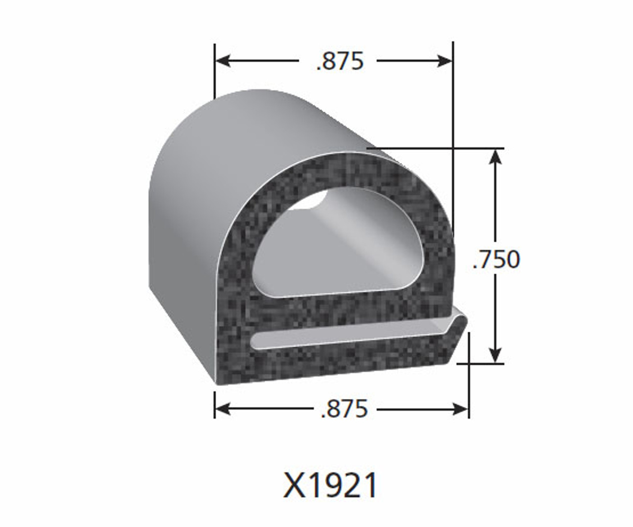 Rubber Seal X1921-HT