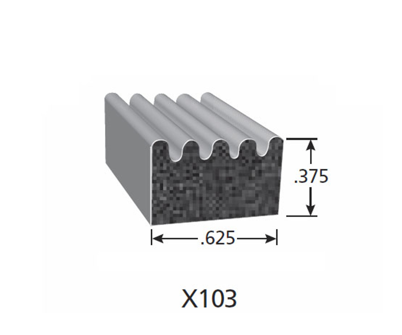 Rubber Seal X103-HT