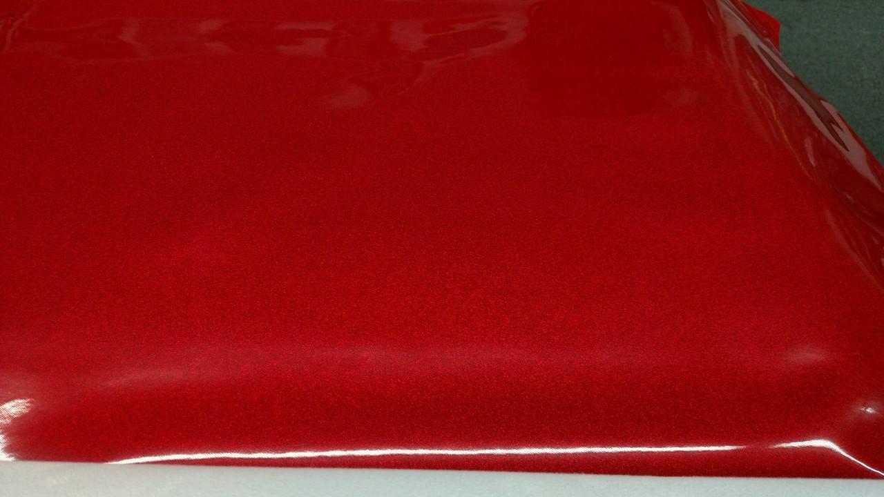 "Novatex Red METALFLAKE/GLITTER Vinyl 54"""