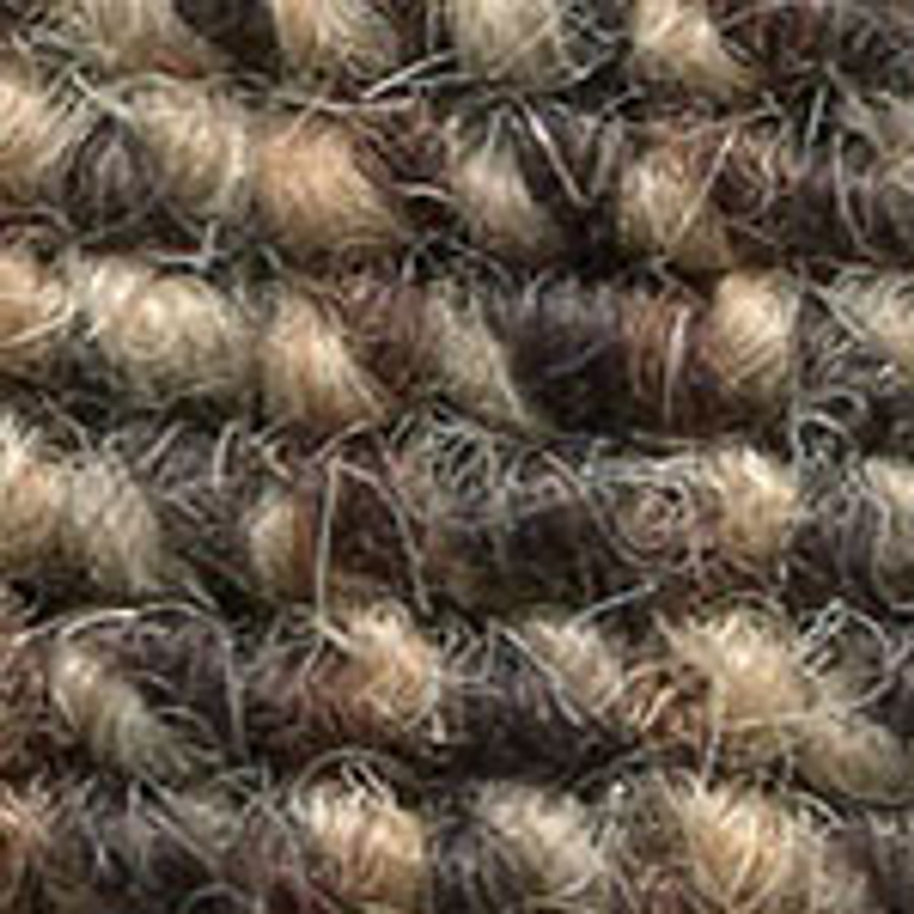 """Imported Wool Square Weave Carpet 65"""" - 324 Honey Brown"""