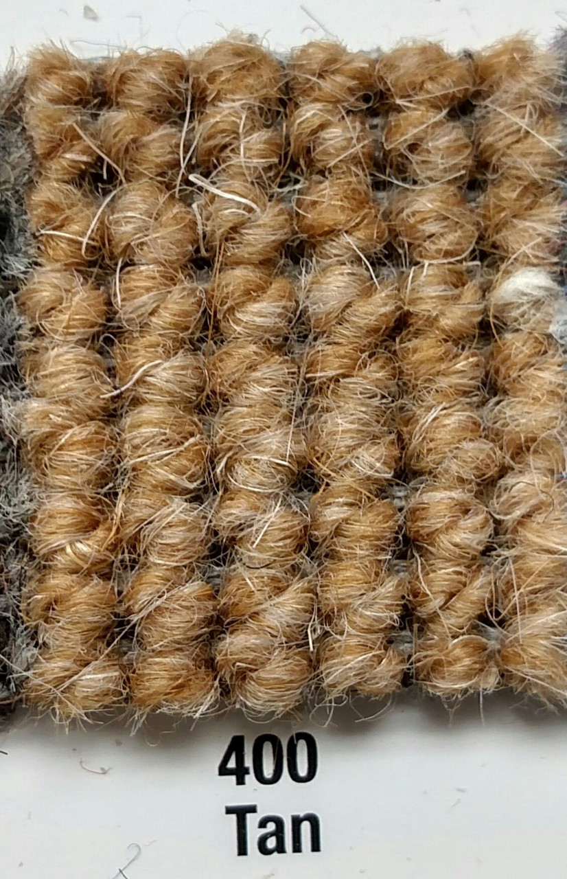 "Imported German Wool Square Weave Carpet 65"" - 400 Tan*NOTICE*"