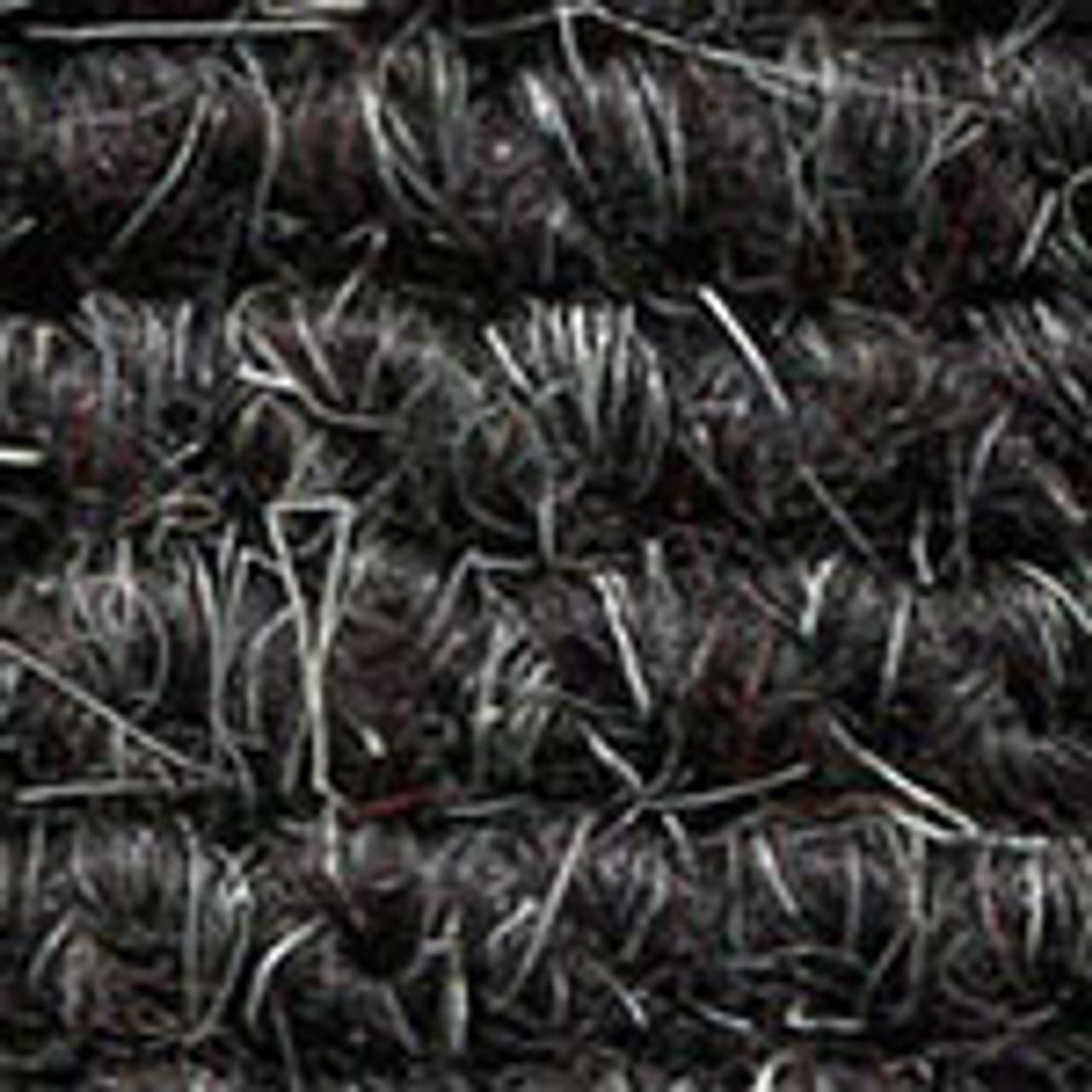 "Imported German Wool Square Weave Carpet 65"" - 319 Black"