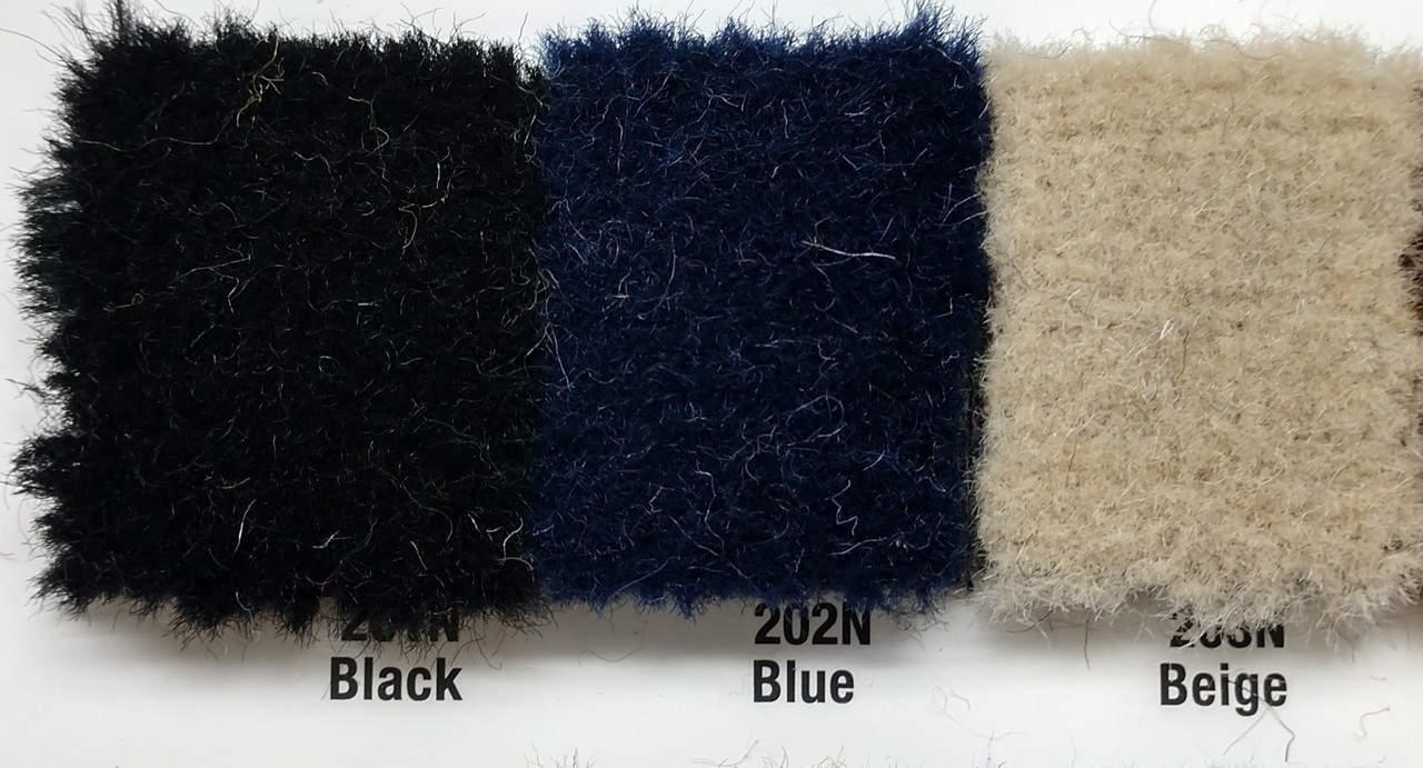Samples available upon request! / BLUE is in between Black & Beige