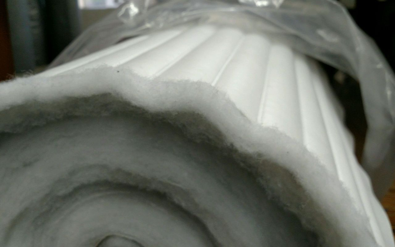 """Seascape Promo Marine White PLEATED Vinyl 54"""" - Sold by the YARD"""