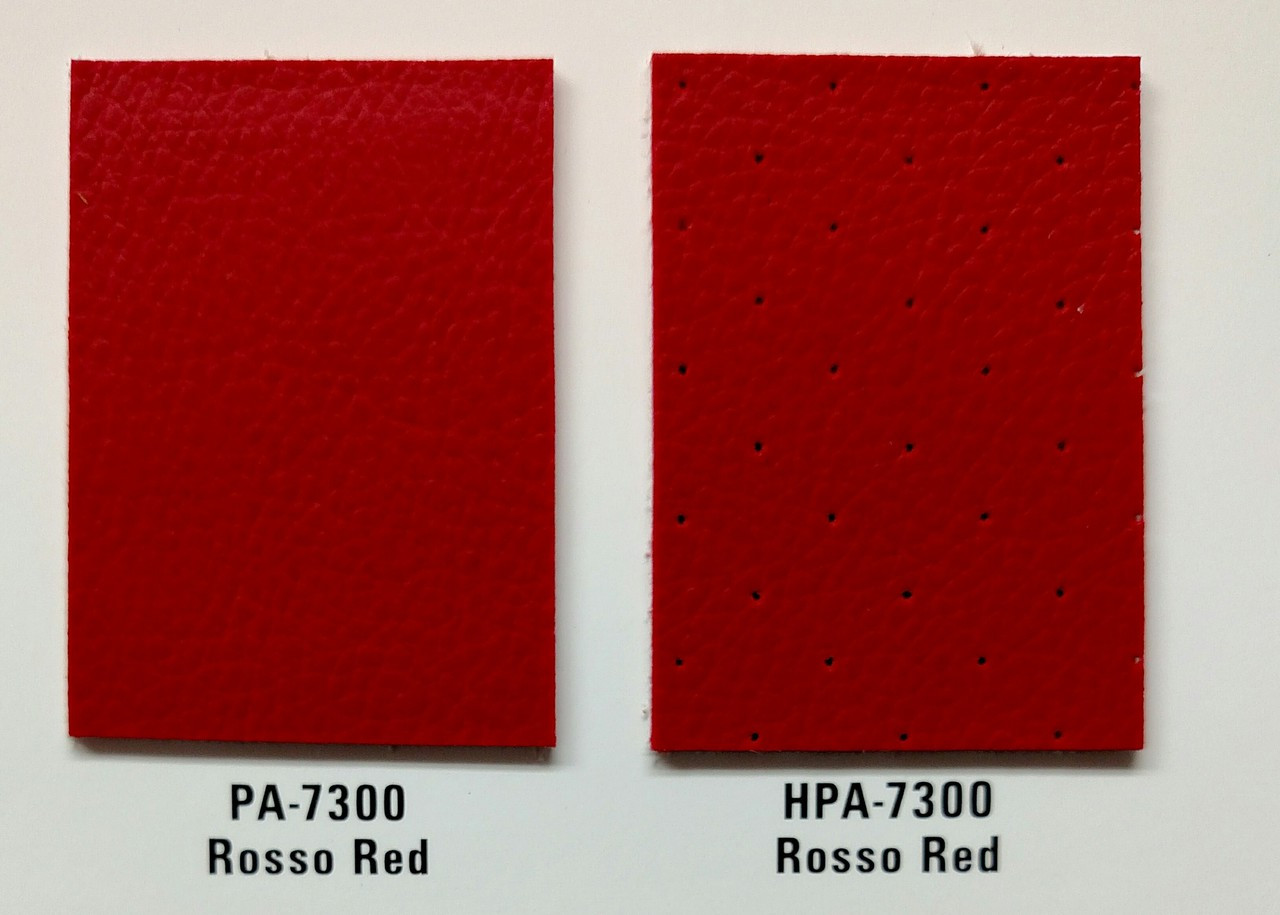 Shown here with HPA 7300 Russo Red Perf.