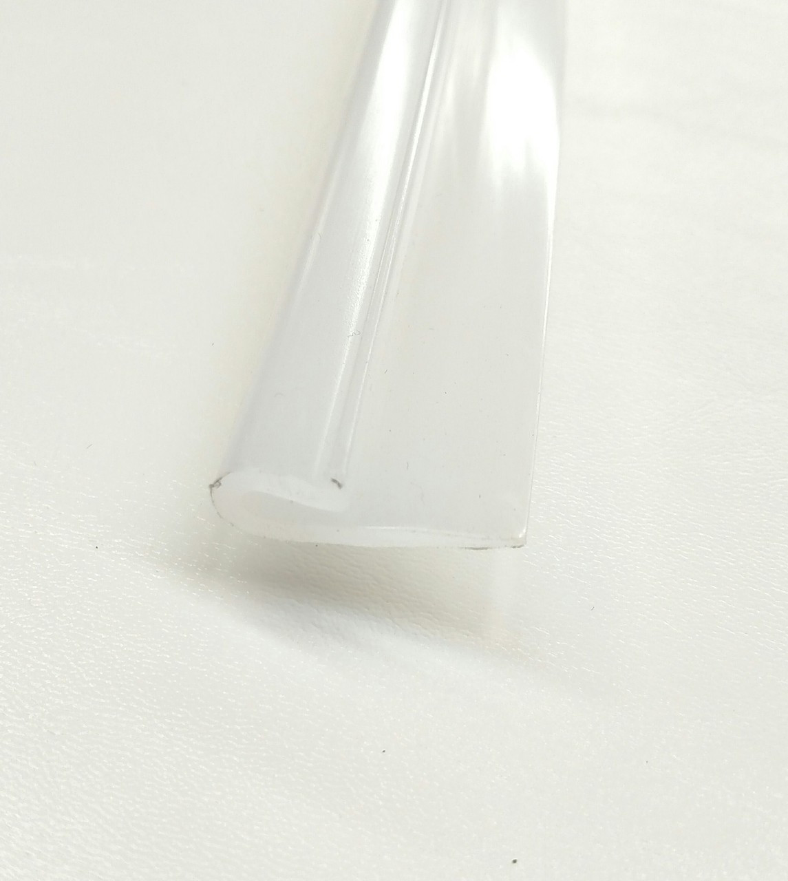 """Flexible Polyethylene 1-1/8"""" Wide & will clip on to a EDGE up to 1/8"""" thick!"""