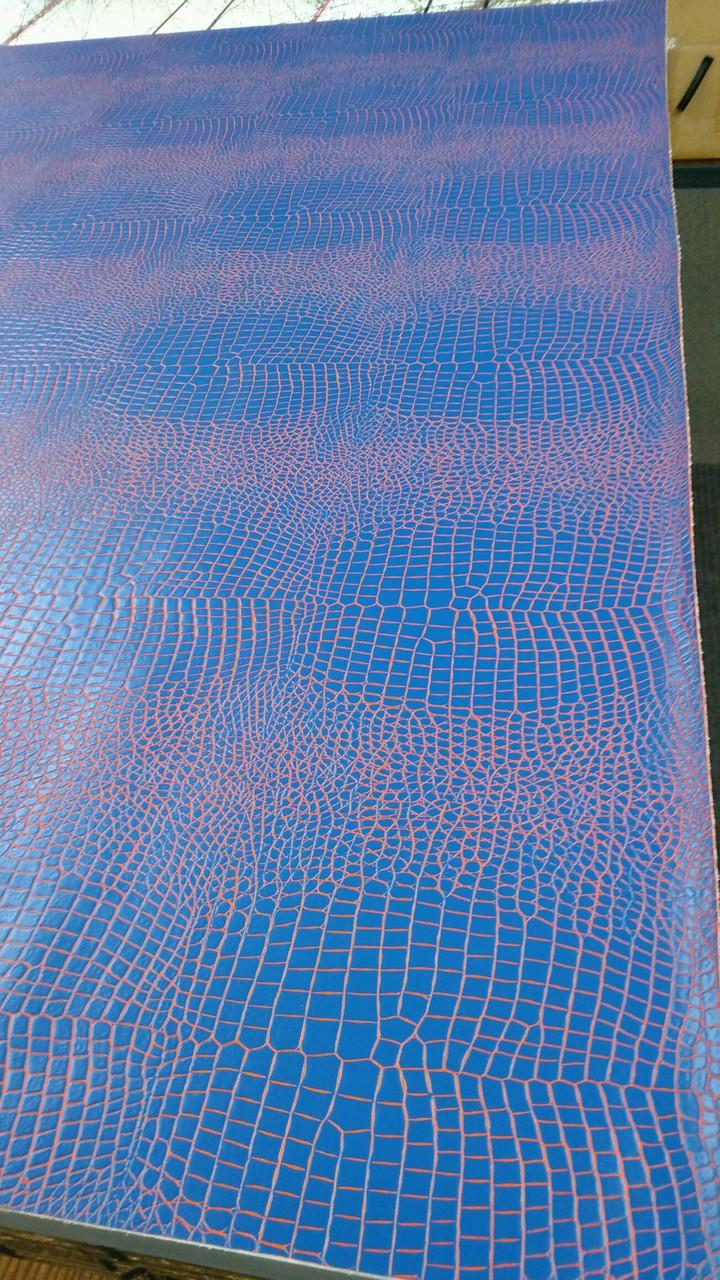 "Gator Blue/Orange Vinyl 54"""