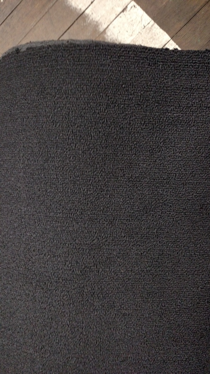 "Dorsett Dynamic 301 Black Loop Carpet 40"" - Sold by the Yard"