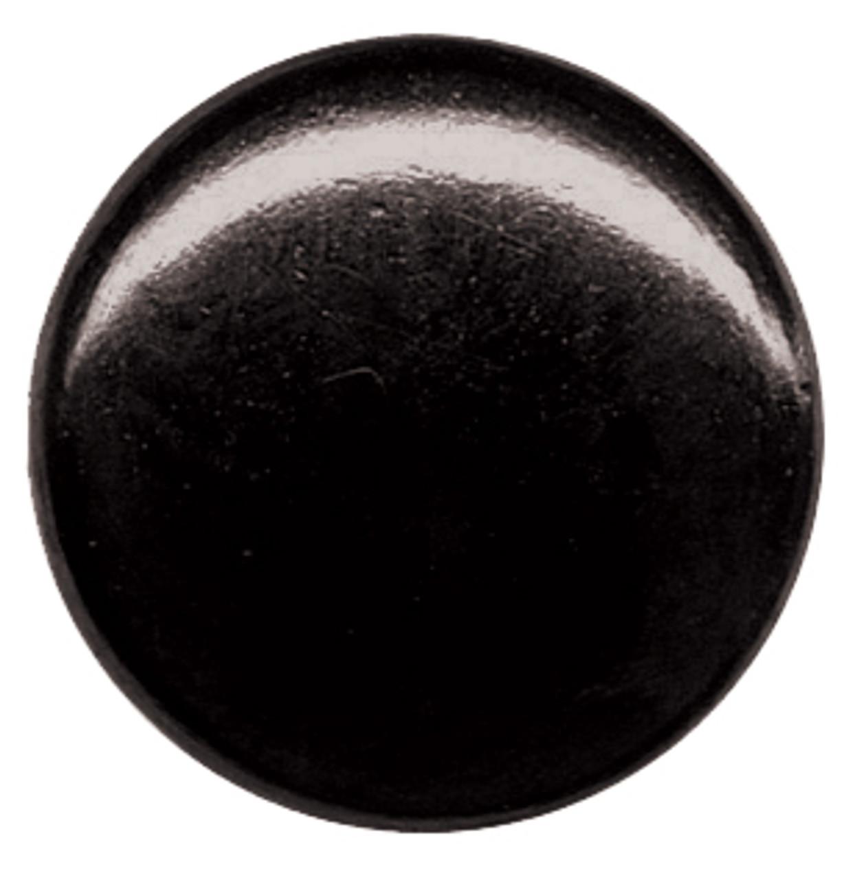 Shiny Black Enamel Finish