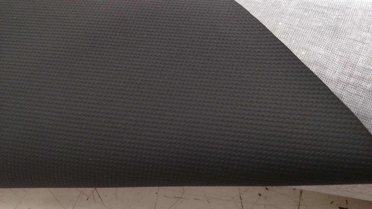"""Black """"Grabber"""" NON-SLIP Vinyl 54"""" - Sold by the CONTINUOUS YARD!"""