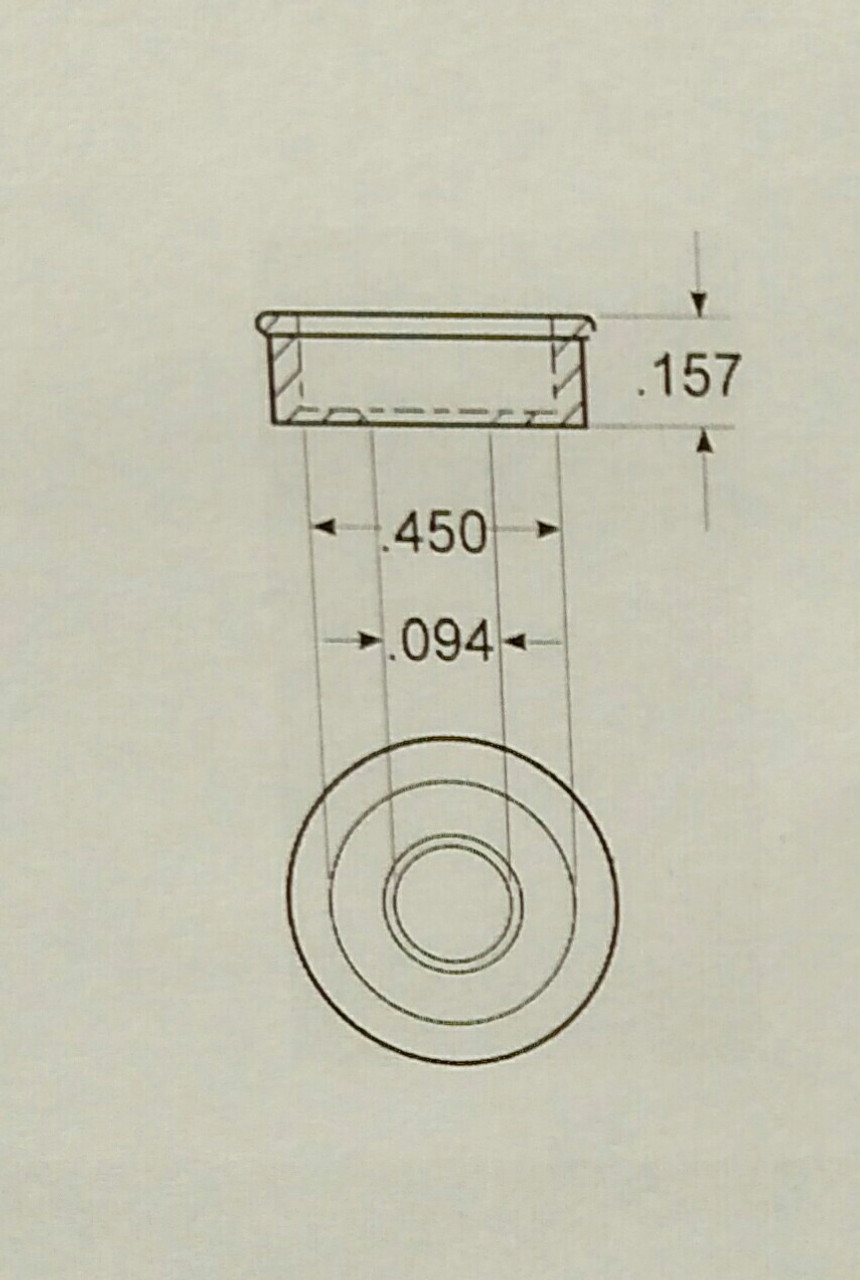 Flat Base/Washer Dimensions