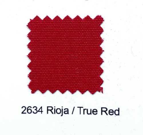 "Sundown Marine Canvas True Red 60"" - Sold by the CONTINUOUS YARD!"