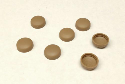 12 Snap-Cap Medium Saddle & Flat Base/Washer 25 Pack
