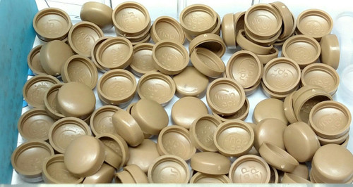 12 Snap-Cap Medium Saddle & Flat Base/Washer - 25 per Pack