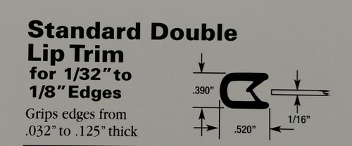 "For Edges 1/32"" to 1/8"" Thick"