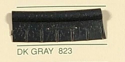 Embossed Snipped Seat Welt Dark Gray