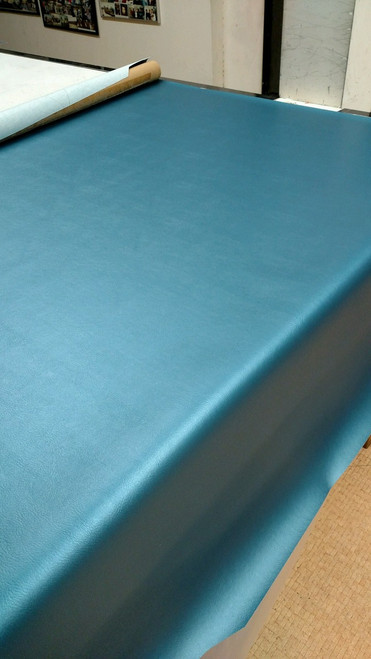 "Madrid 2309 CLASSIC Metallic Medium Blue Vinyl ENDYRATEX 54"" - Sold by the CONTINUOUS YARD!"