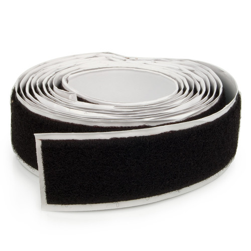 "Adhesive Backing Black Loop 1"", 1-1/2"" or 2"""
