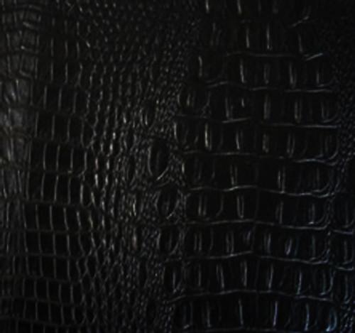 "JJ WILD CROC Midnight Black (True Black) Vinyl 56"""