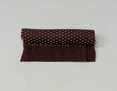 Stitched Cloth Windlace Dark Brown - 4 yards