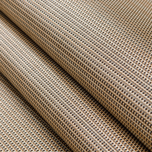 "Phifertex PLUS Plain Mesh Straw Mat Cognac 54"" - Sold by the YARD"