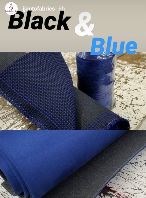 Shown with our 270 King Blue Nylon Thread & LSH 294 Royal Blue Headliner, both sold separately on our Website!