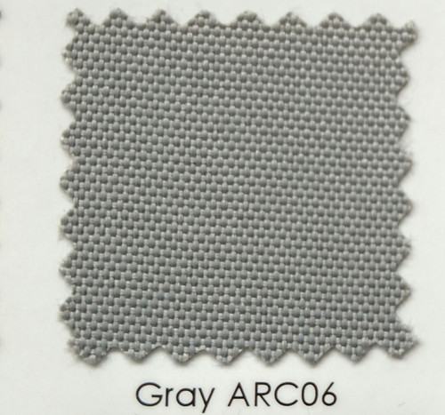 Arcadia Gray Outdoor Fabric 60""